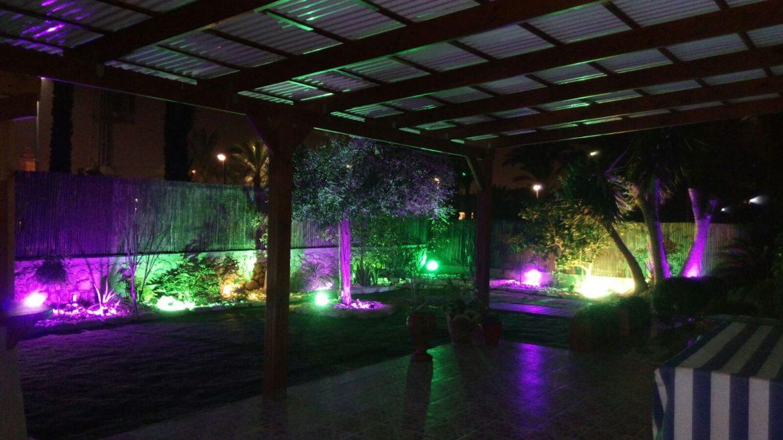 תאורת לילה לגינה